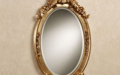 Antique Oval Wall Mirrors
