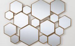Hexagon Wall Mirrors