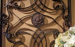 Tuscan Wrought Iron Wall Art