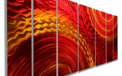 Abstract Metal Wall Art Australia