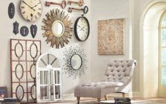 Cream Metal Wall Art