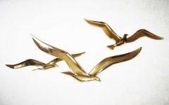 Flying Birds Metal Wall Art