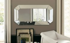 Horizontal Decorative Wall Mirrors
