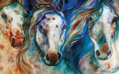 Horses Canvas Wall Art