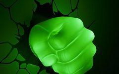 Hulk Hand 3D Wall Art