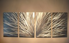 Inexpensive Abstract Metal Wall Art