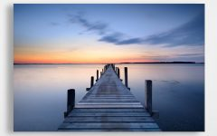 Jetty Canvas Wall Art