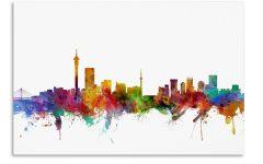 Johannesburg Canvas Wall Art