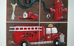 Fire Truck Wall Art