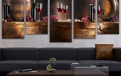 Kitchen Canvas Wall Art Decors