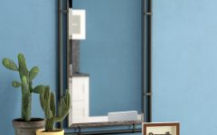 Koeller Industrial Metal Wall Mirrors