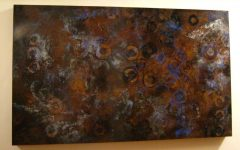 Large Copper Wall Art