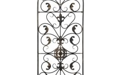 Antique Iron Alloy Wall Décor