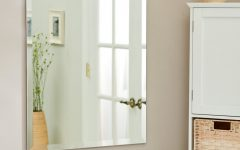 Large Wall Mirrors Without Frame