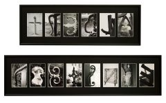 Last Name Framed Wall Art