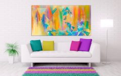 Bright Abstract Wall Art
