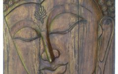 Buddha Wood Wall Art