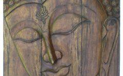 Buddha Wood Wall Art