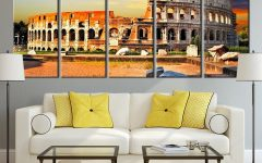 Canvas Wall Art of Rome