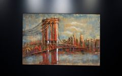 Brooklyn Bridge Metal Wall Art