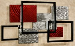 Abstract Metal Wall Art Sculptures