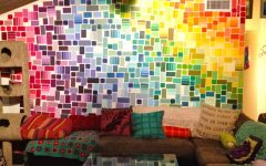 Paint Swatch Wall Art