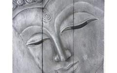 Silver Buddha Wall Art