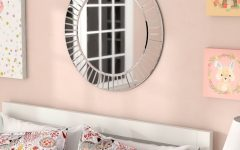 Lidya Frameless Beveled Wall Mirrors