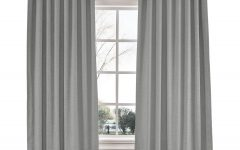 Luxury Collection Faux Leather Blackout Single Curtain Panels