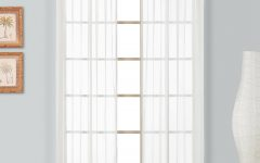 Luxury Collection Monte Carlo Sheer Curtain Panel Pairs