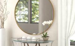Mahanoy Modern and Contemporary Distressed Accent Mirrors