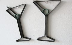 Martini Metal Wall Art