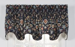 Medallion Window Curtain Valances