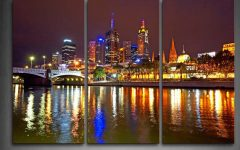 Melbourne Canvas Wall Art