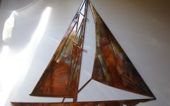 Metal Sailboat Wall Art