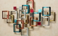 Abstract Metal Sculpture Wall Art