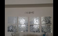Mirror Mosaic Wall Art