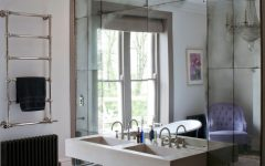 Mercury Glass Wall Mirrors