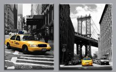Black and White New York Canvas Wall Art