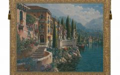 Blended Fabric Morning Reflections by Robert Pejman Flanders Tapestries