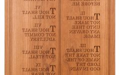 Ten Commandments Wall Art