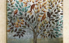 Canvas Wall Art of Trees