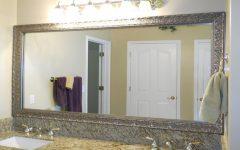 Framing Bathroom Wall Mirrors