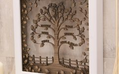 3d Tree Wall Art