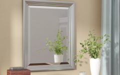 Rectangle Plastic Beveled Wall Mirrors