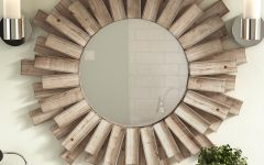 Wood Accent Mirrors