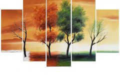 Abstract Nature Canvas Wall Art