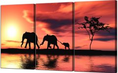 Elephant Canvas Wall Art
