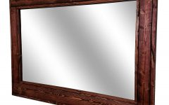 Large Wall Mirrors With Wood Frame