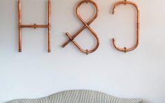Decorative Initials Wall Art